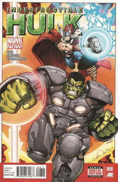 Indestructible Hulk #8 comic books - cover scans photos Indestructible Hulk #8 comic books - covers, picture gallery