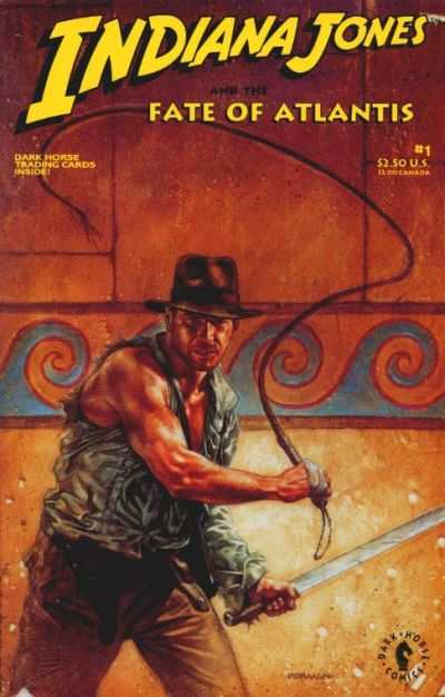 Indiana Jones and the Fate of Atlantis #1 comic books - cover scans photos Indiana Jones and the Fate of Atlantis #1 comic books - covers, picture gallery