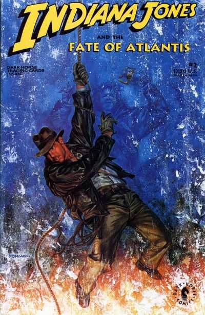 Indiana Jones and the Fate of Atlantis #2 comic books - cover scans photos Indiana Jones and the Fate of Atlantis #2 comic books - covers, picture gallery