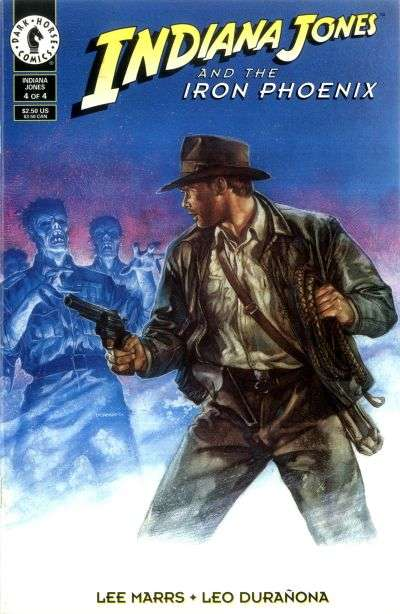 Indiana Jones and the Iron Phoenix #4 Comic Books - Covers, Scans, Photos  in Indiana Jones and the Iron Phoenix Comic Books - Covers, Scans, Gallery