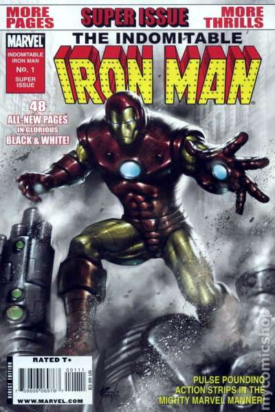 Indomitable Iron Man #1 comic books - cover scans photos Indomitable Iron Man #1 comic books - covers, picture gallery