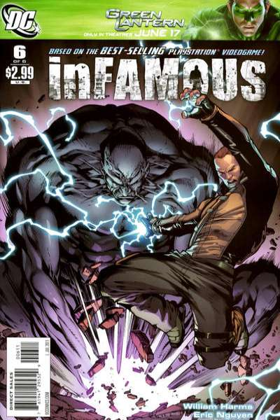 Infamous #6 comic books for sale