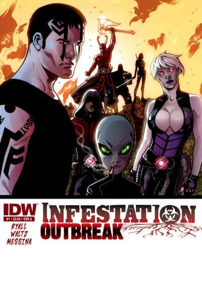 Infestation: Outbreak comic books