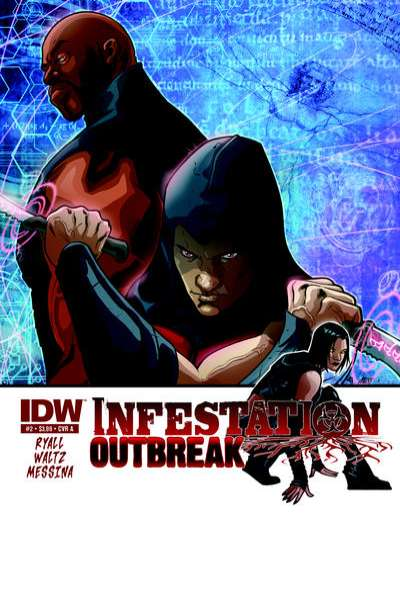 Infestation: Outbreak #2 comic books - cover scans photos Infestation: Outbreak #2 comic books - covers, picture gallery