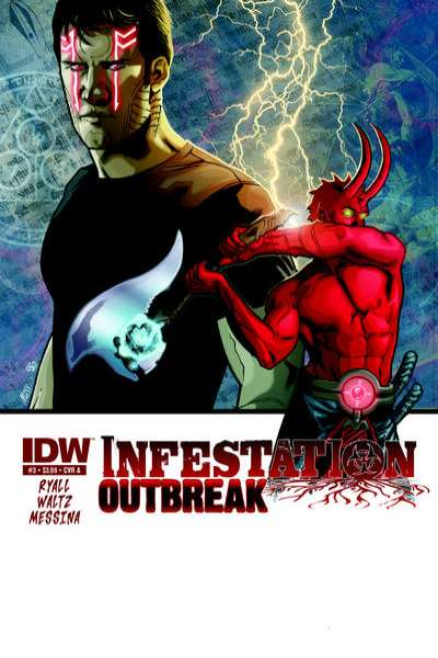 Infestation: Outbreak #3 comic books - cover scans photos Infestation: Outbreak #3 comic books - covers, picture gallery