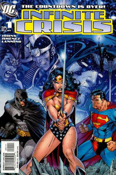 Infinite Crisis #1 comic books - cover scans photos Infinite Crisis #1 comic books - covers, picture gallery