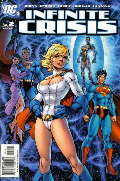 Infinite Crisis #2 comic books - cover scans photos Infinite Crisis #2 comic books - covers, picture gallery