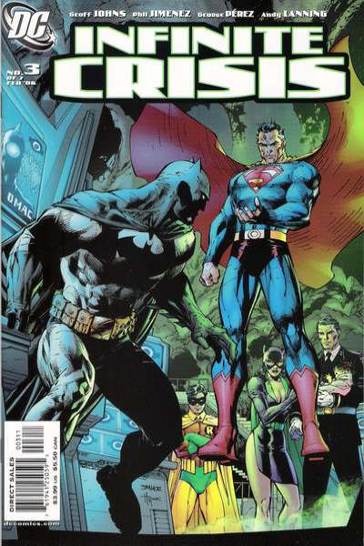 Infinite Crisis #3 Comic Books - Covers, Scans, Photos  in Infinite Crisis Comic Books - Covers, Scans, Gallery