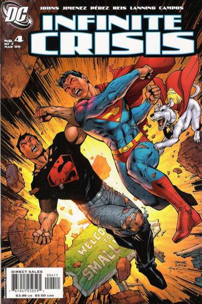 Infinite Crisis #4 comic books for sale
