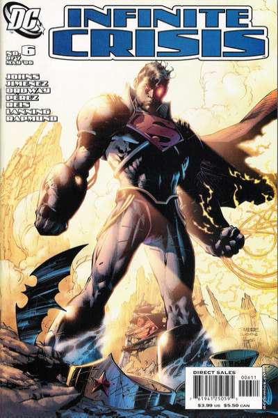 Infinite Crisis #6 comic books - cover scans photos Infinite Crisis #6 comic books - covers, picture gallery