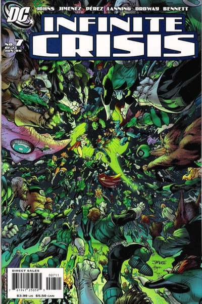 Infinite Crisis #7 comic books - cover scans photos Infinite Crisis #7 comic books - covers, picture gallery