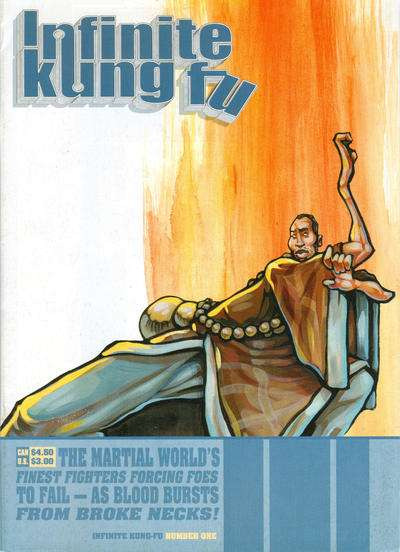 Infinite Kung Fu comic books