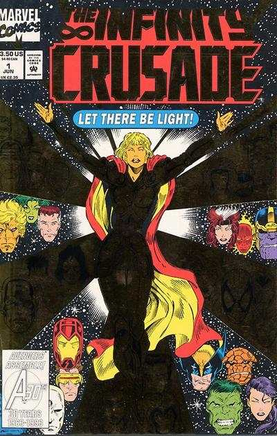 Infinity Crusade comic books