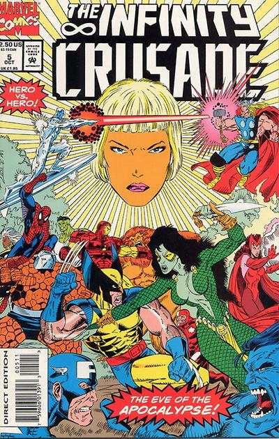 Infinity Crusade #5 Comic Books - Covers, Scans, Photos  in Infinity Crusade Comic Books - Covers, Scans, Gallery