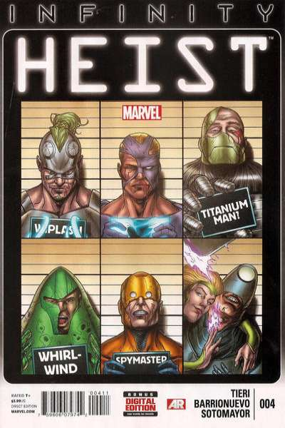 Infinity: Heist #4 Comic Books - Covers, Scans, Photos  in Infinity: Heist Comic Books - Covers, Scans, Gallery
