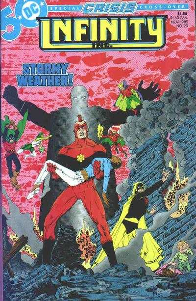 Infinity Inc. #20 Comic Books - Covers, Scans, Photos  in Infinity Inc. Comic Books - Covers, Scans, Gallery