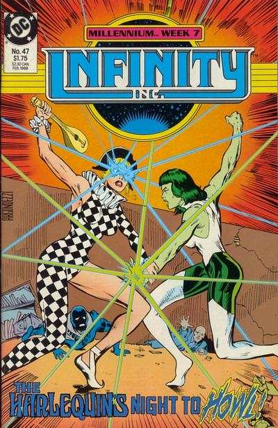 Infinity Inc. #47 comic books for sale