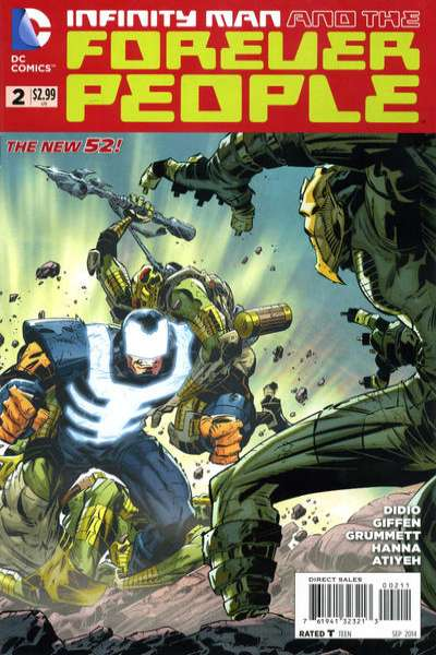 Infinity Man and the Forever People #2 comic books for sale