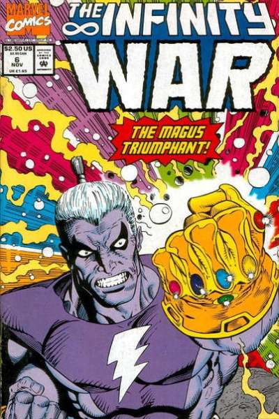 Infinity War #6 comic books for sale