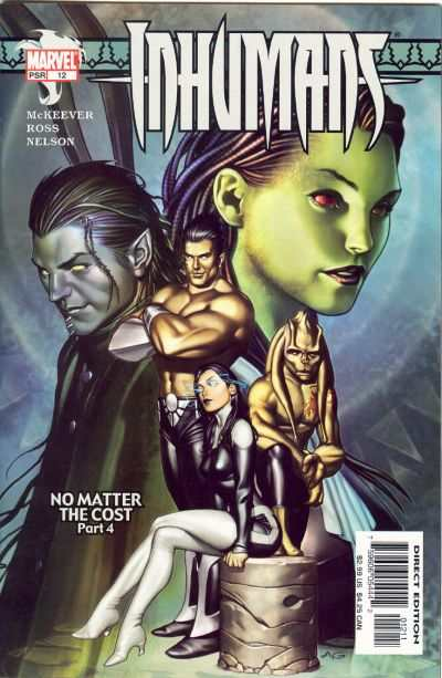 Inhumans #12 comic books - cover scans photos Inhumans #12 comic books - covers, picture gallery