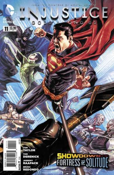Injustice: Gods Among Us #11 comic books for sale