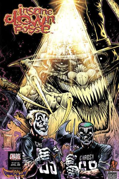 Insane Clown Posse: The Pendulum #2 Comic Books - Covers, Scans, Photos  in Insane Clown Posse: The Pendulum Comic Books - Covers, Scans, Gallery