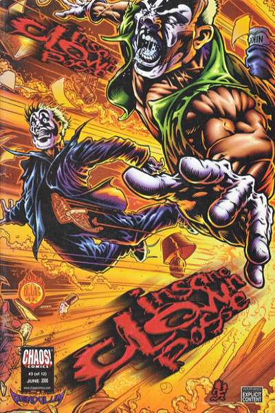 Insane Clown Posse: The Pendulum #3 comic books for sale