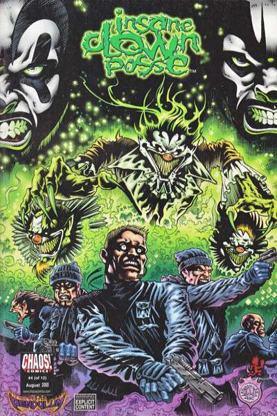 Insane Clown Posse: The Pendulum #4 Comic Books - Covers, Scans, Photos  in Insane Clown Posse: The Pendulum Comic Books - Covers, Scans, Gallery