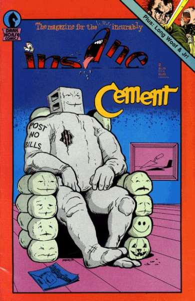 Insane #2 Comic Books - Covers, Scans, Photos  in Insane Comic Books - Covers, Scans, Gallery