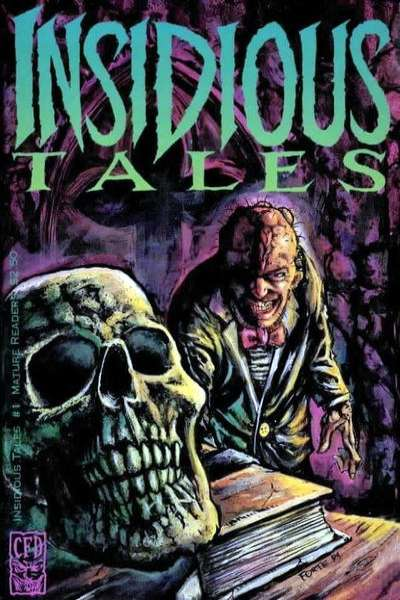 Insidious Tales #1 comic books - cover scans photos Insidious Tales #1 comic books - covers, picture gallery