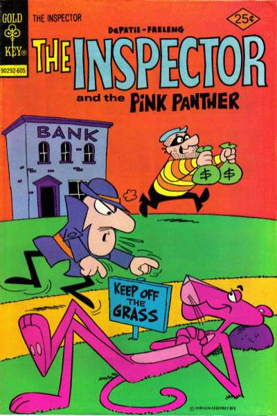 Inspector #9 comic books for sale