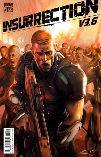 Insurrection v3.6 #3 comic books - cover scans photos Insurrection v3.6 #3 comic books - covers, picture gallery