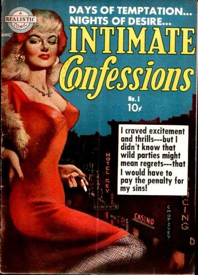 Intimate Confessions comic books