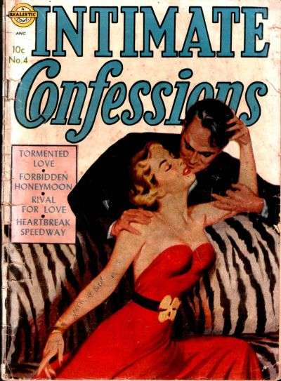 Intimate Confessions #4 comic books for sale
