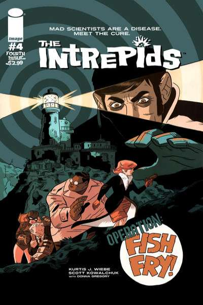 Intrepids #4 Comic Books - Covers, Scans, Photos  in Intrepids Comic Books - Covers, Scans, Gallery