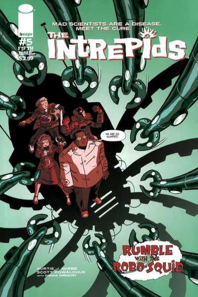 Intrepids #5 comic books for sale