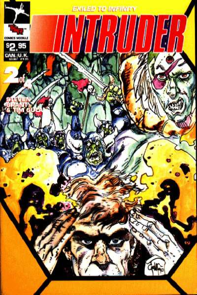Intruder Comics Module #2 Comic Books - Covers, Scans, Photos  in Intruder Comics Module Comic Books - Covers, Scans, Gallery