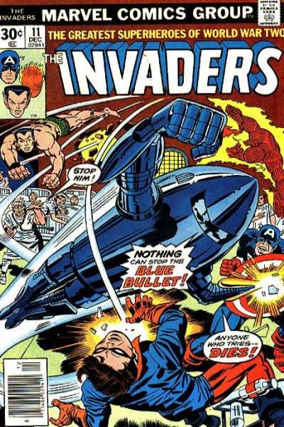 Invaders #11 Comic Books - Covers, Scans, Photos  in Invaders Comic Books - Covers, Scans, Gallery