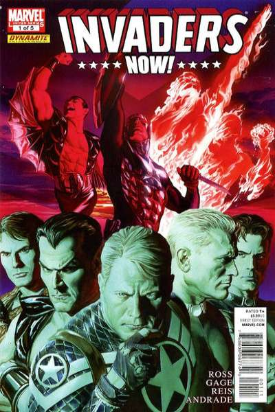 Invaders Now! #1 comic books - cover scans photos Invaders Now! #1 comic books - covers, picture gallery
