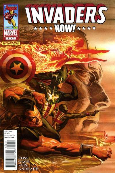 Invaders Now! #2 comic books - cover scans photos Invaders Now! #2 comic books - covers, picture gallery
