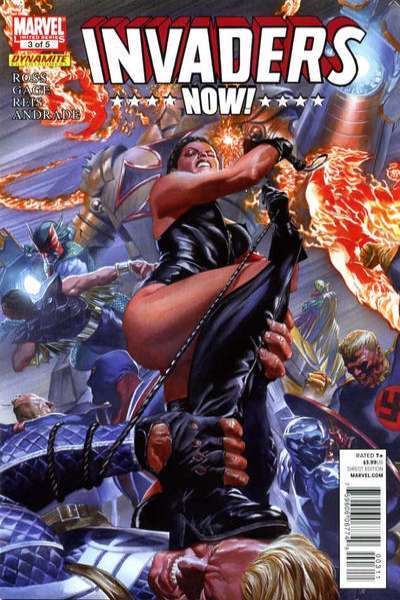 Invaders Now! #3 comic books - cover scans photos Invaders Now! #3 comic books - covers, picture gallery