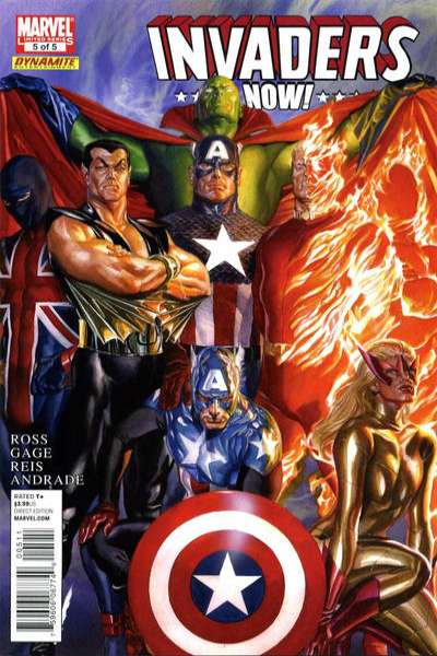 Invaders Now! #5 comic books - cover scans photos Invaders Now! #5 comic books - covers, picture gallery