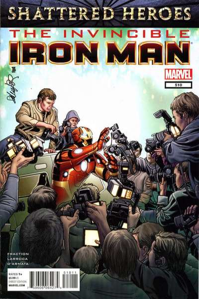 Invincible Iron Man #510 comic books - cover scans photos Invincible Iron Man #510 comic books - covers, picture gallery