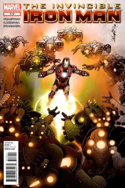 Invincible Iron Man #512 Comic Books - Covers, Scans, Photos  in Invincible Iron Man Comic Books - Covers, Scans, Gallery
