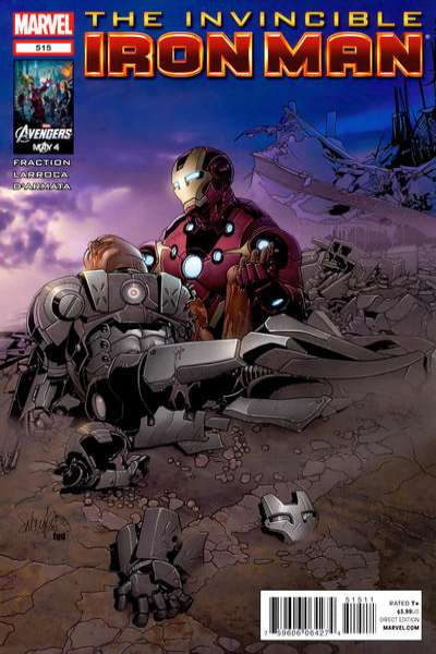 Invincible Iron Man #515 Comic Books - Covers, Scans, Photos  in Invincible Iron Man Comic Books - Covers, Scans, Gallery