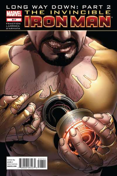 Invincible Iron Man #517 comic books - cover scans photos Invincible Iron Man #517 comic books - covers, picture gallery