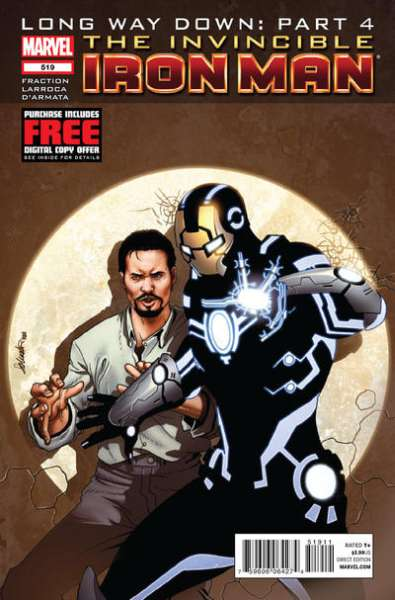 Invincible Iron Man #519 comic books - cover scans photos Invincible Iron Man #519 comic books - covers, picture gallery