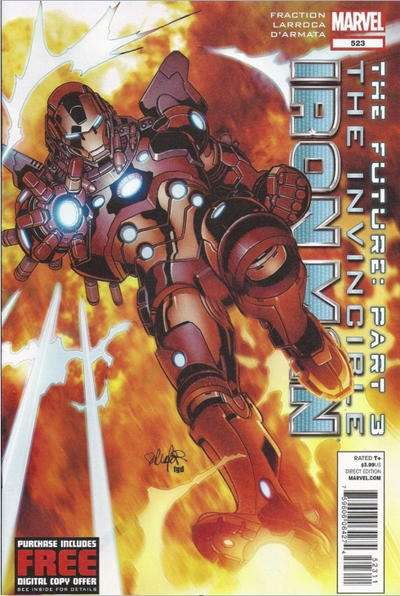 Invincible Iron Man #523 Comic Books - Covers, Scans, Photos  in Invincible Iron Man Comic Books - Covers, Scans, Gallery