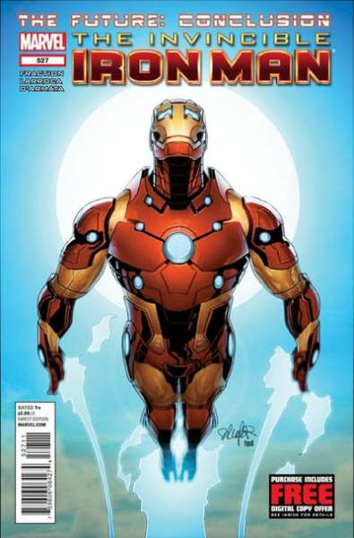 Invincible Iron Man #527 comic books - cover scans photos Invincible Iron Man #527 comic books - covers, picture gallery