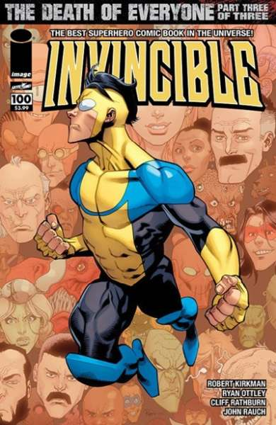 Invincible #100 comic books for sale